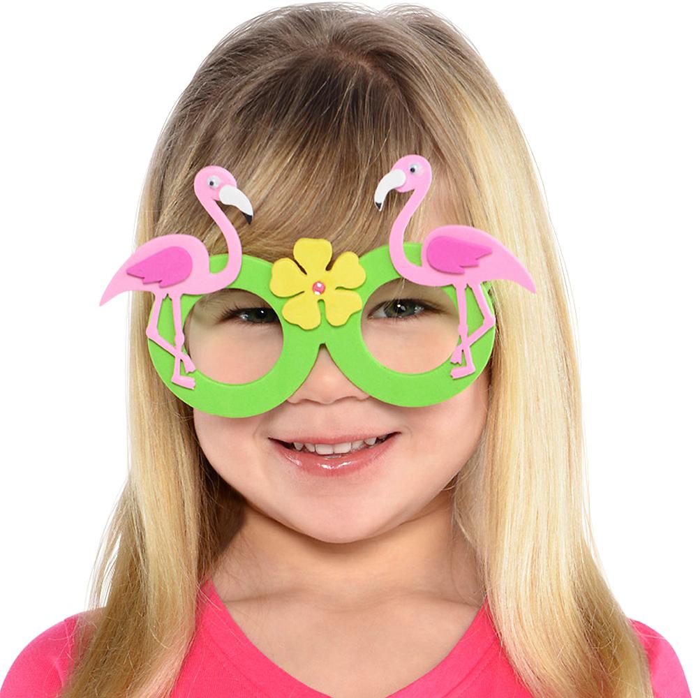 Child Flamingo Glasses Image #3