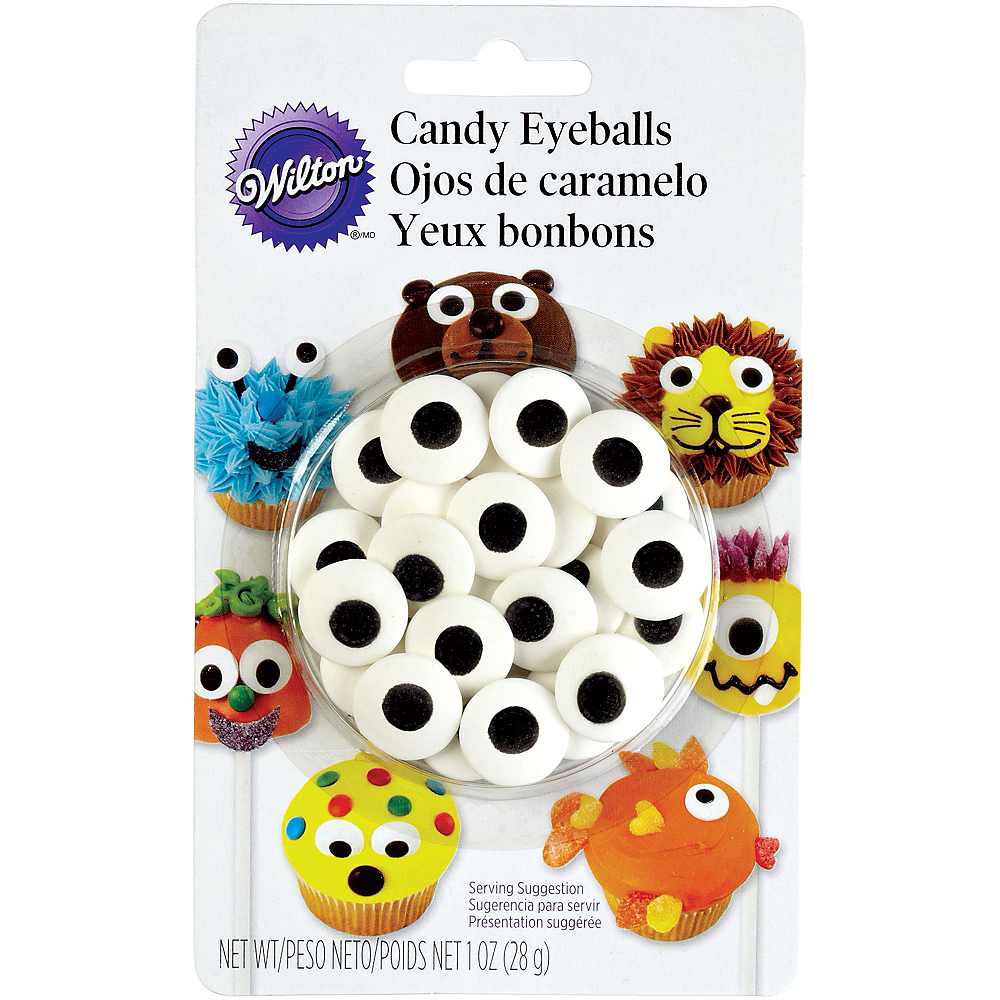 Wilton Flat Candy Eyeballs Image #1