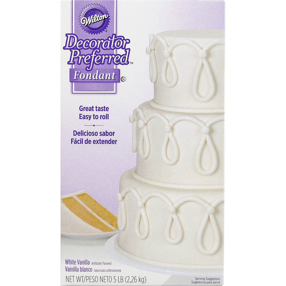 Nav Item for Wilton White Rolled Fondant Image #1