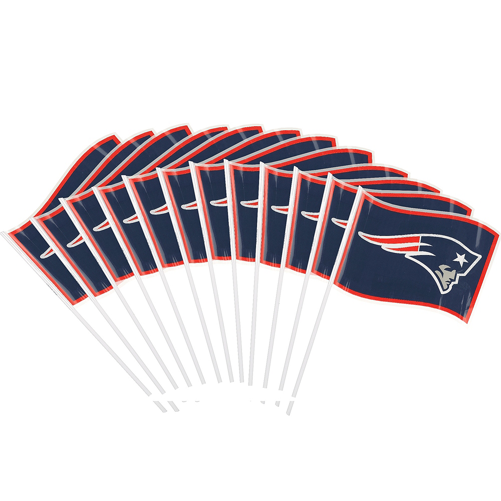 New England Patriots Flags 12ct Image #1