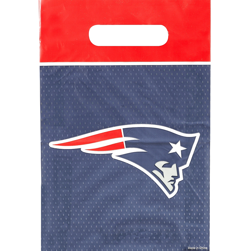 New England Patriots Favor Bags 8ct Image #1