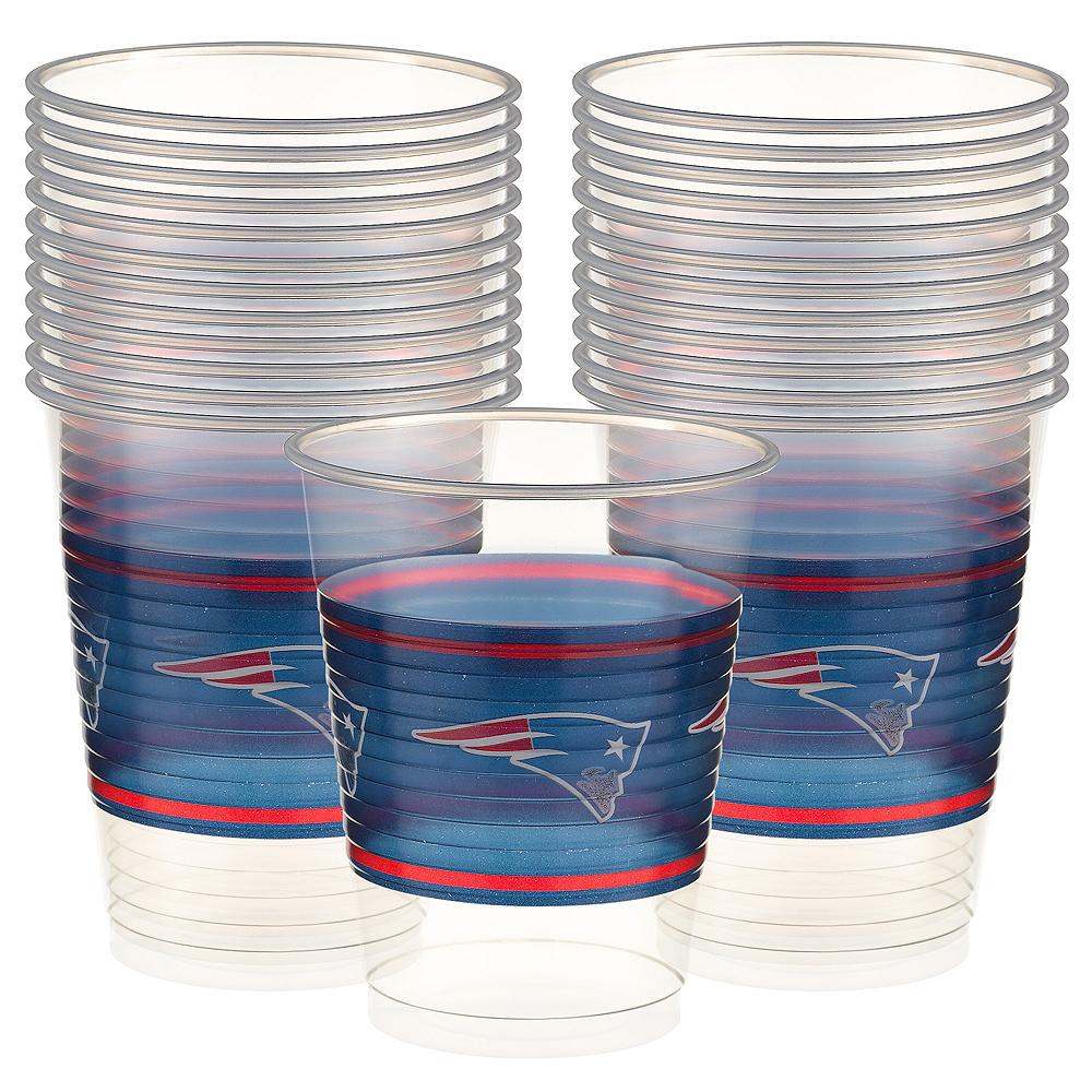 New England Patriots Plastic Cups 25ct Image #1