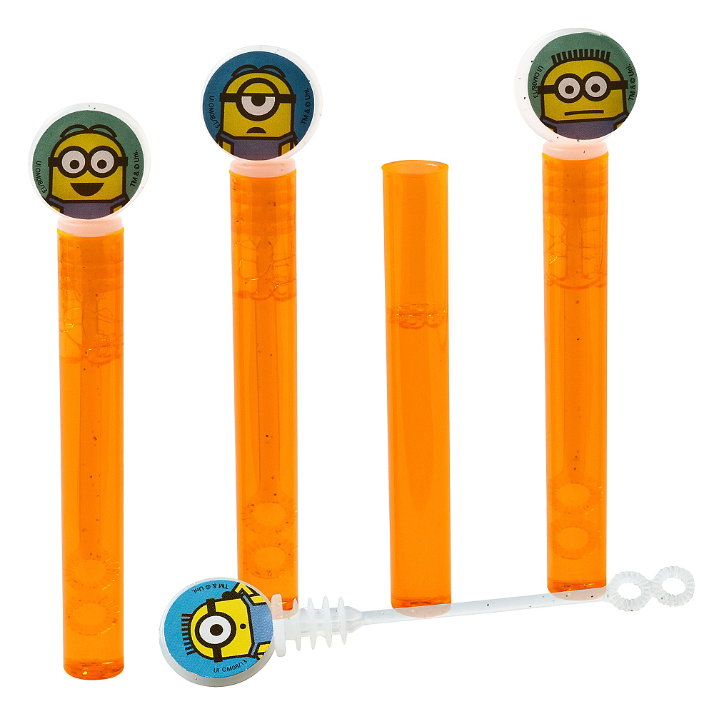 Nav Item for Despicable Me Mini Bubble Wands 4ct Image #1