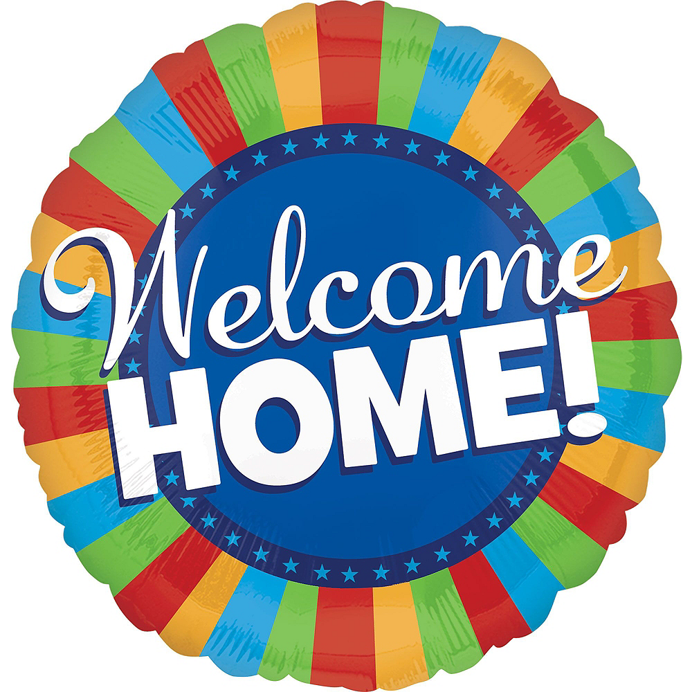 Welcome Home Balloon Bouquet 5pc Image #4