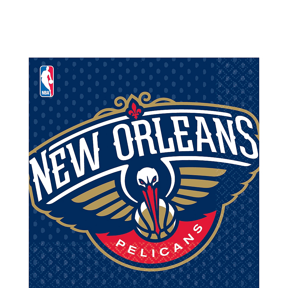 New Orleans Pelicans Lunch Napkins 16ct Image #1