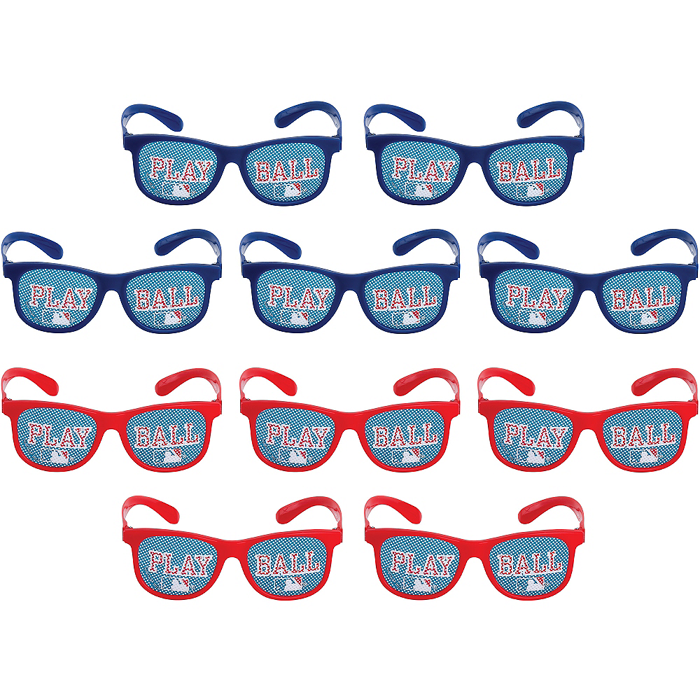 MLB Baseball Printed Glasses 10ct Image #1