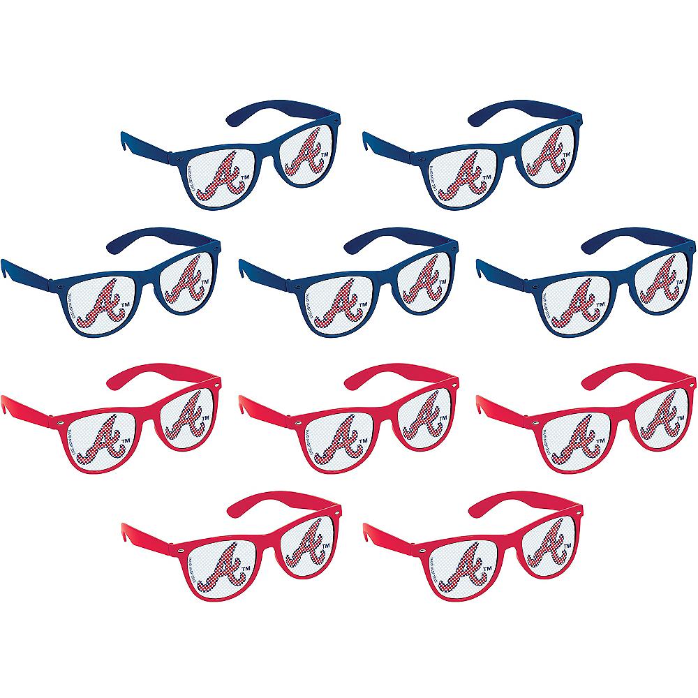 Atlanta Braves Printed Glasses 10ct Image #1