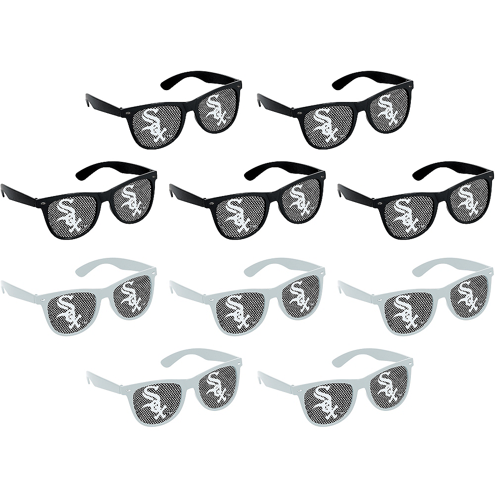 Chicago White Sox Printed Glasses 10ct Image #1