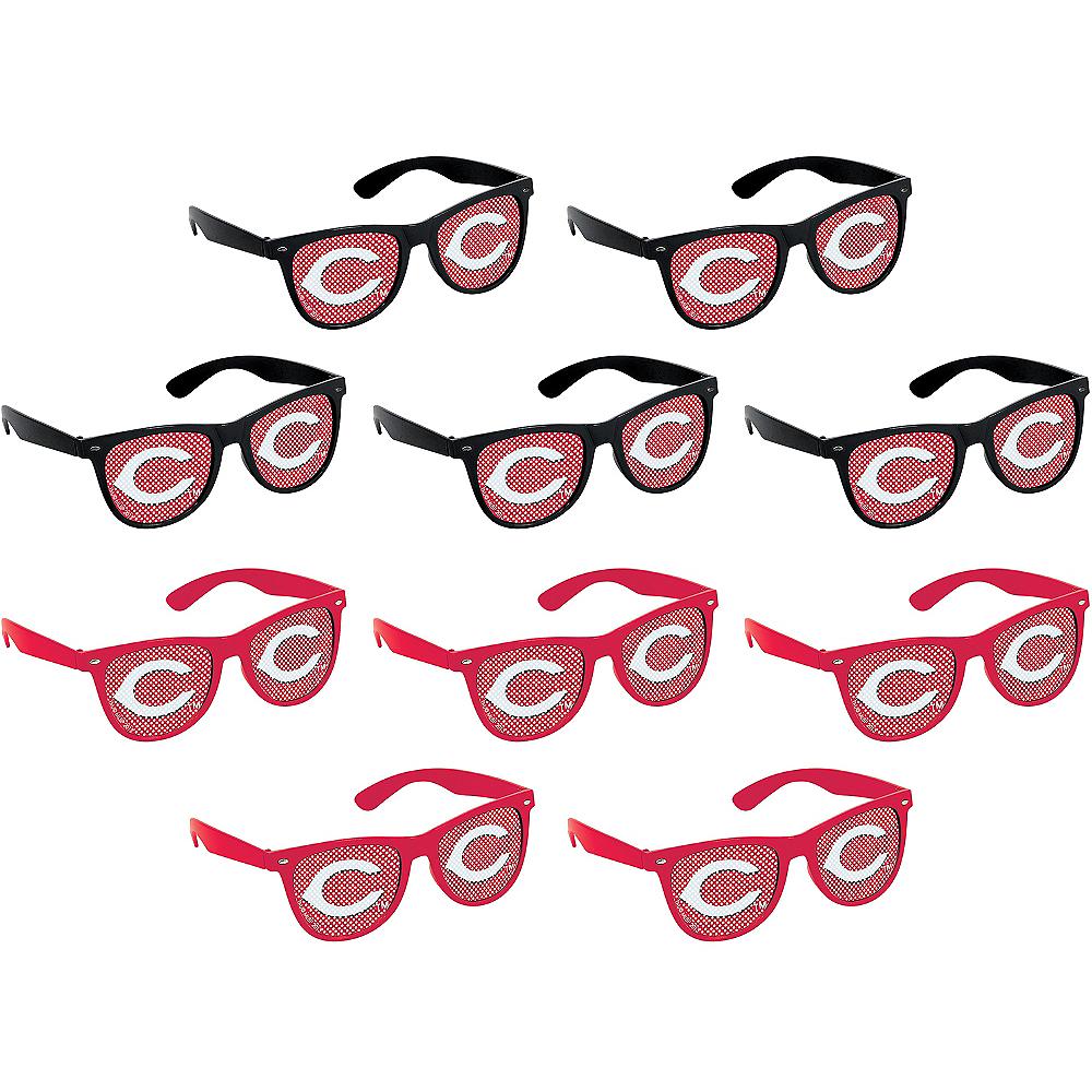 Cincinnati Reds Printed Glasses 10ct Image #1