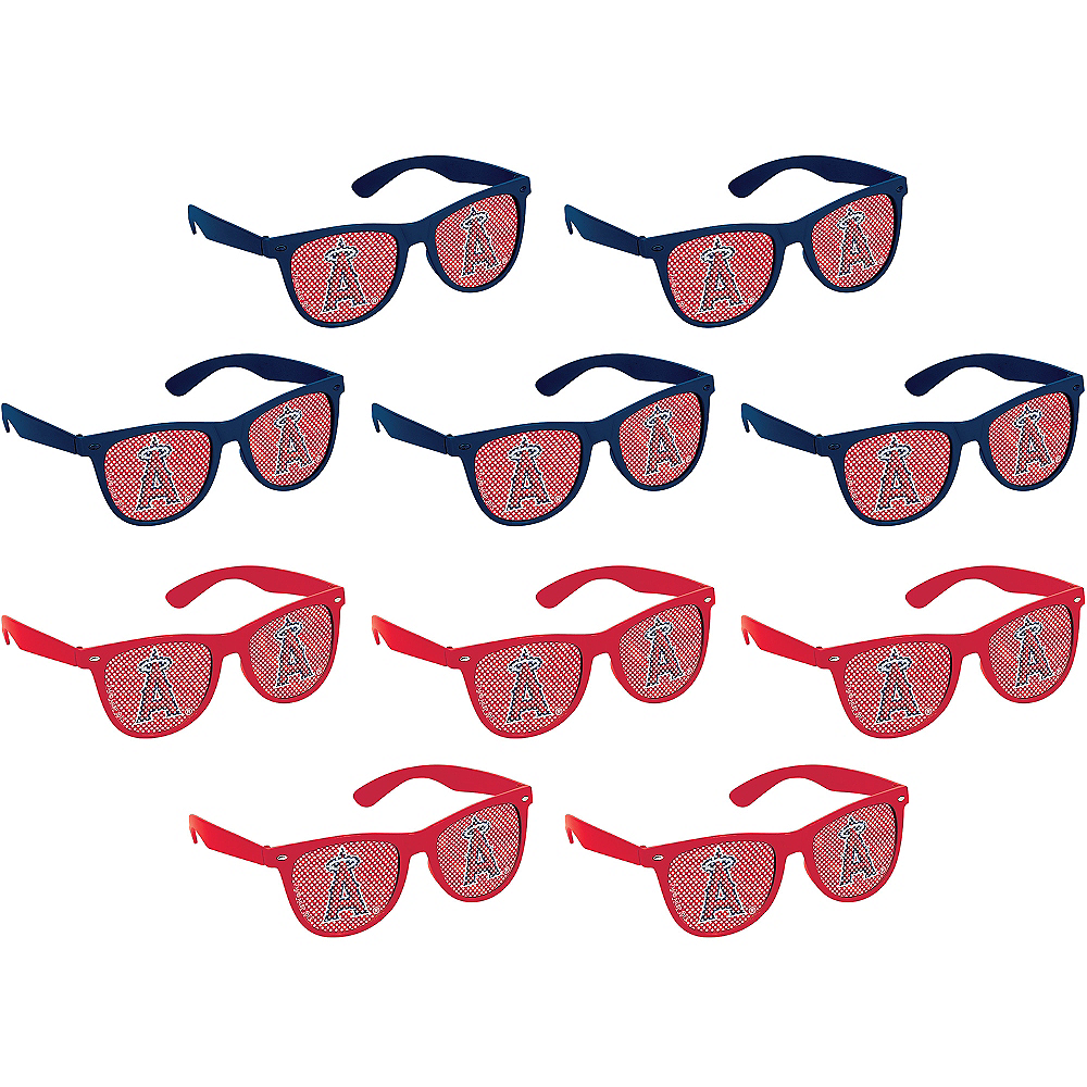 Los Angeles Angels Printed Glasses 10ct Image #1