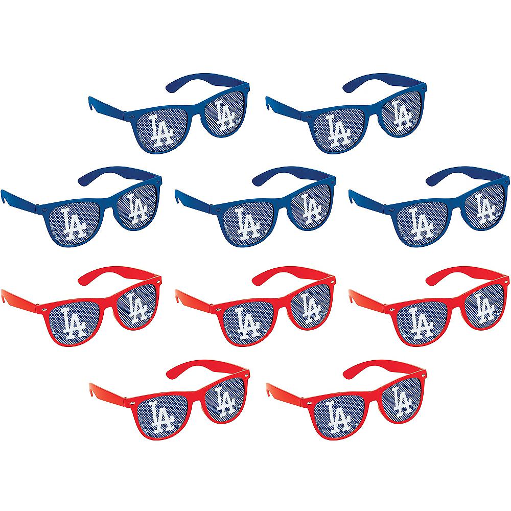 Los Angeles Dodgers Printed Glasses 10ct Image #1
