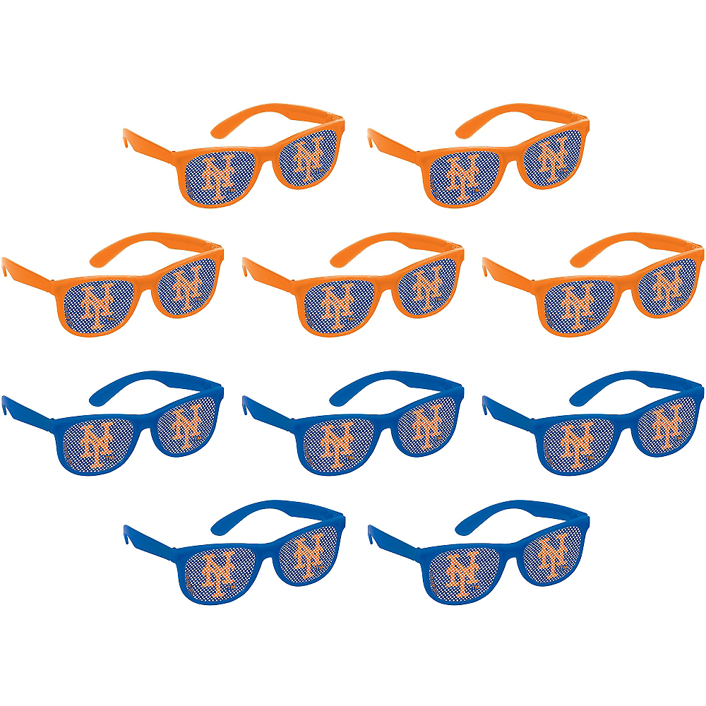 New York Mets Printed Glasses 10ct Image #1