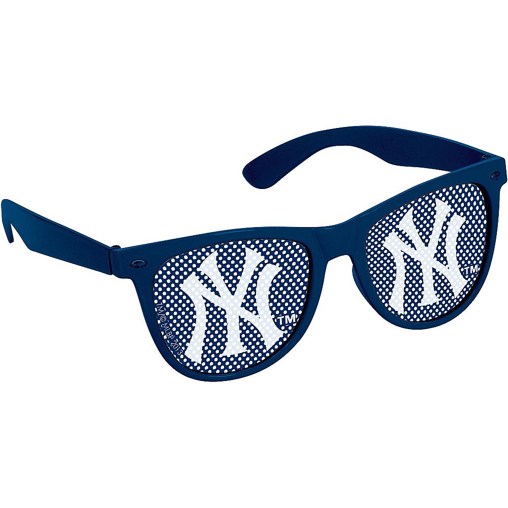 New York Yankees Printed Glasses 10ct Image #2