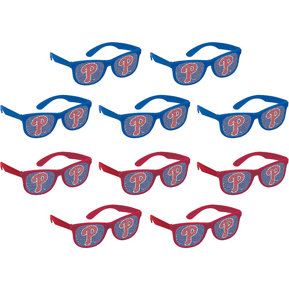 Philadelphia Phillies Printed Glasses 10ct Image #1