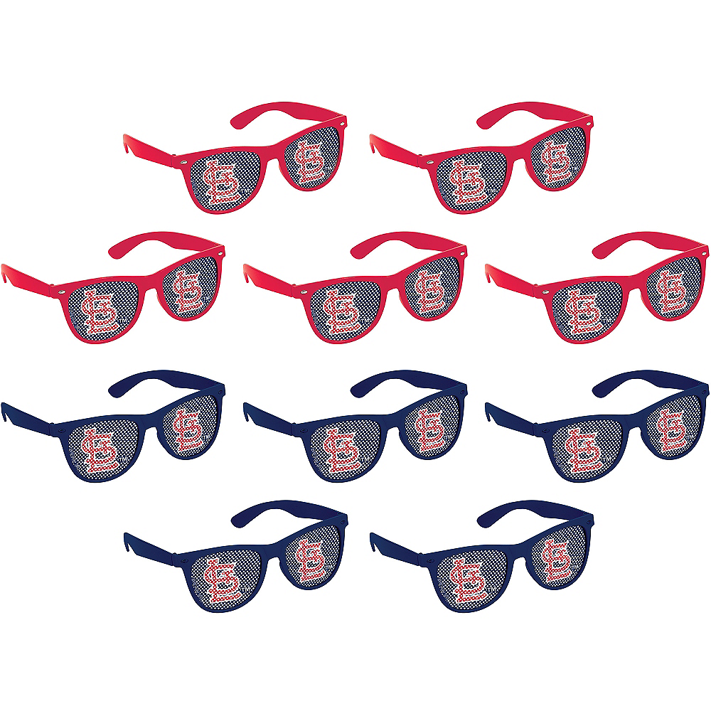 St. Louis Cardinals Printed Glasses 10ct Image #1