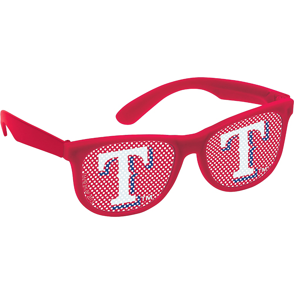 Texas Rangers Printed Glasses 10ct Image #2