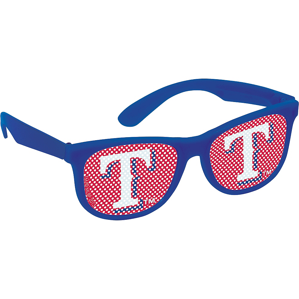 Texas Rangers Printed Glasses 10ct Image #3
