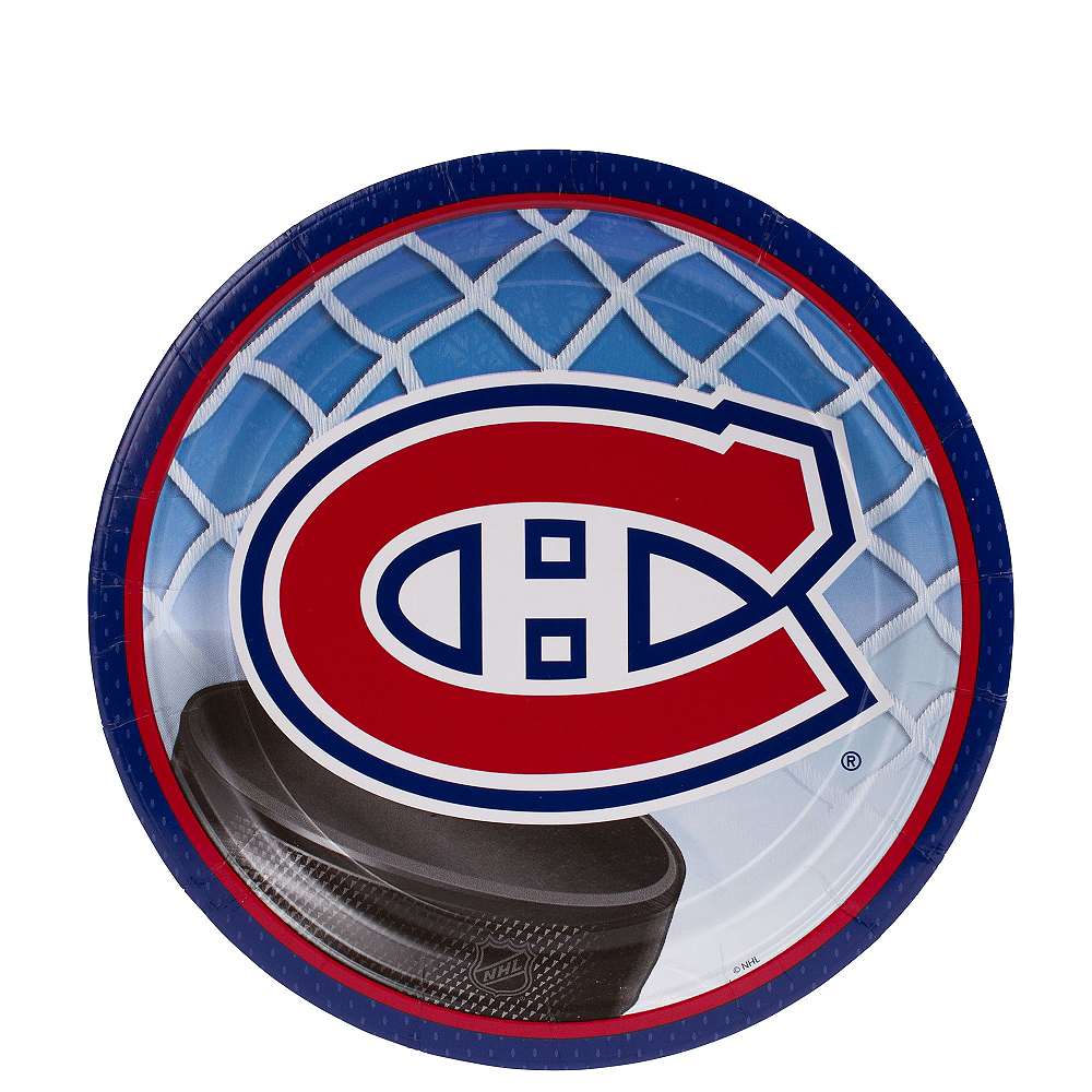 Nav Item for Montreal Canadiens Dessert Plates 8ct Image #1