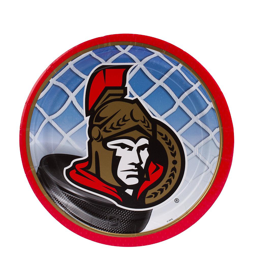 Ottawa Senators Dessert Plates 8ct Image #1