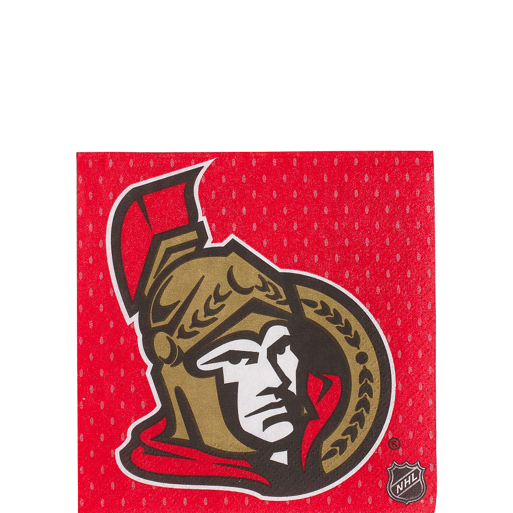 Ottawa Senators Beverage Napkins 16ct Image #1