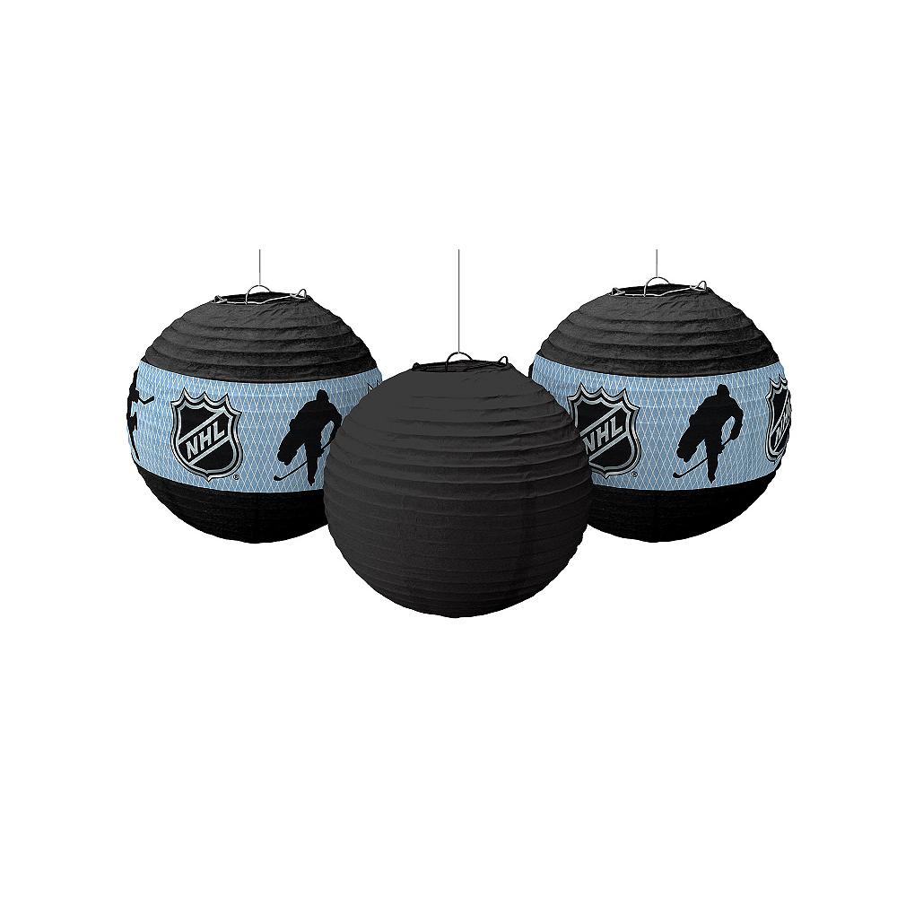 NHL Paper Lanterns 3ct Image #1