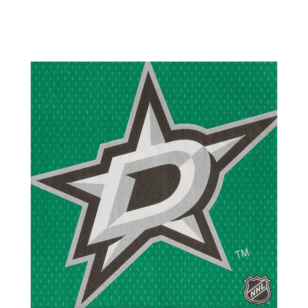 Dallas Stars Lunch Napkins 16ct Image #1
