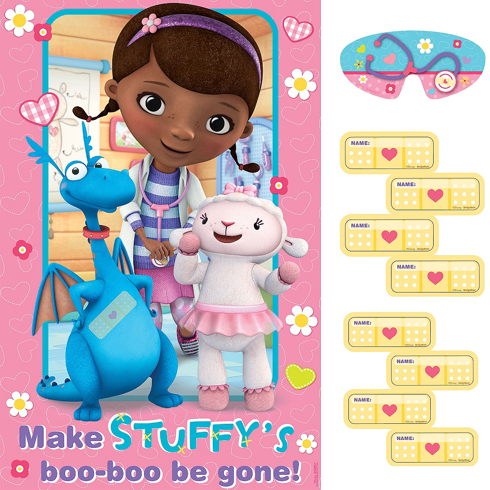 Doc McStuffins Party Game Image 1
