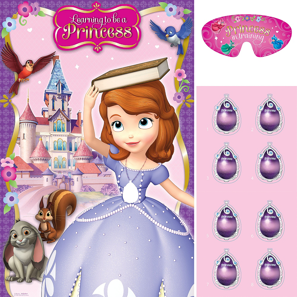 Sofia the First Party Game Image #1