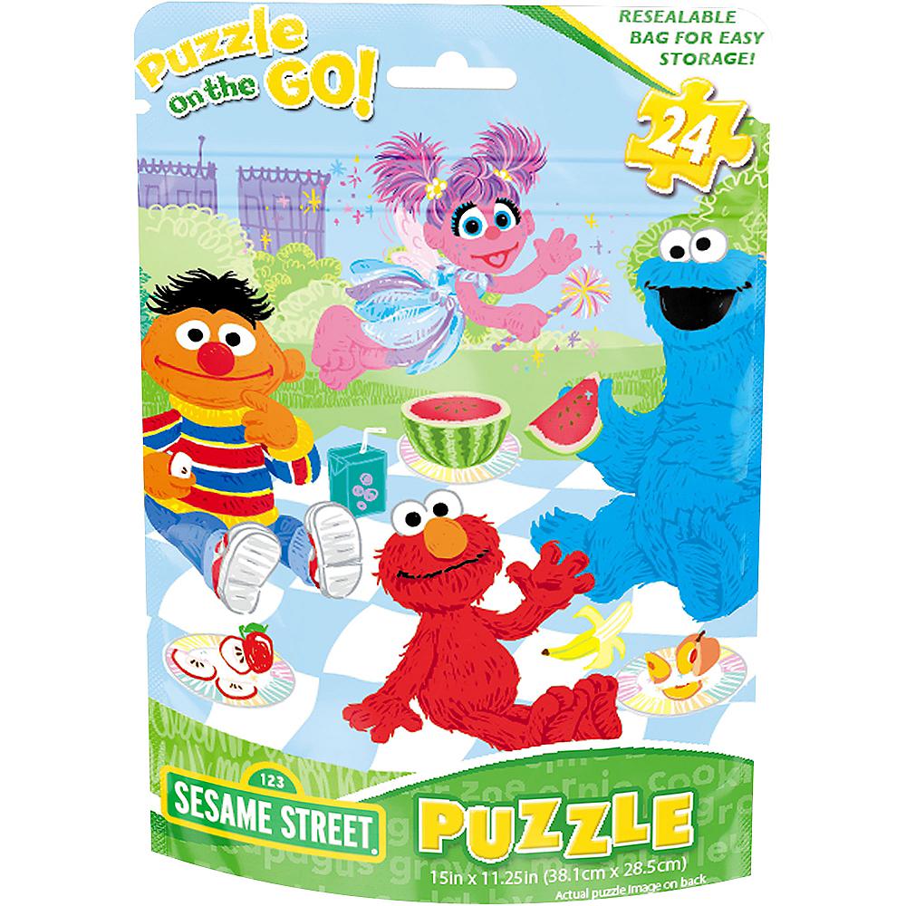 Sesame Street Puzzle Bag 24pc Image #1