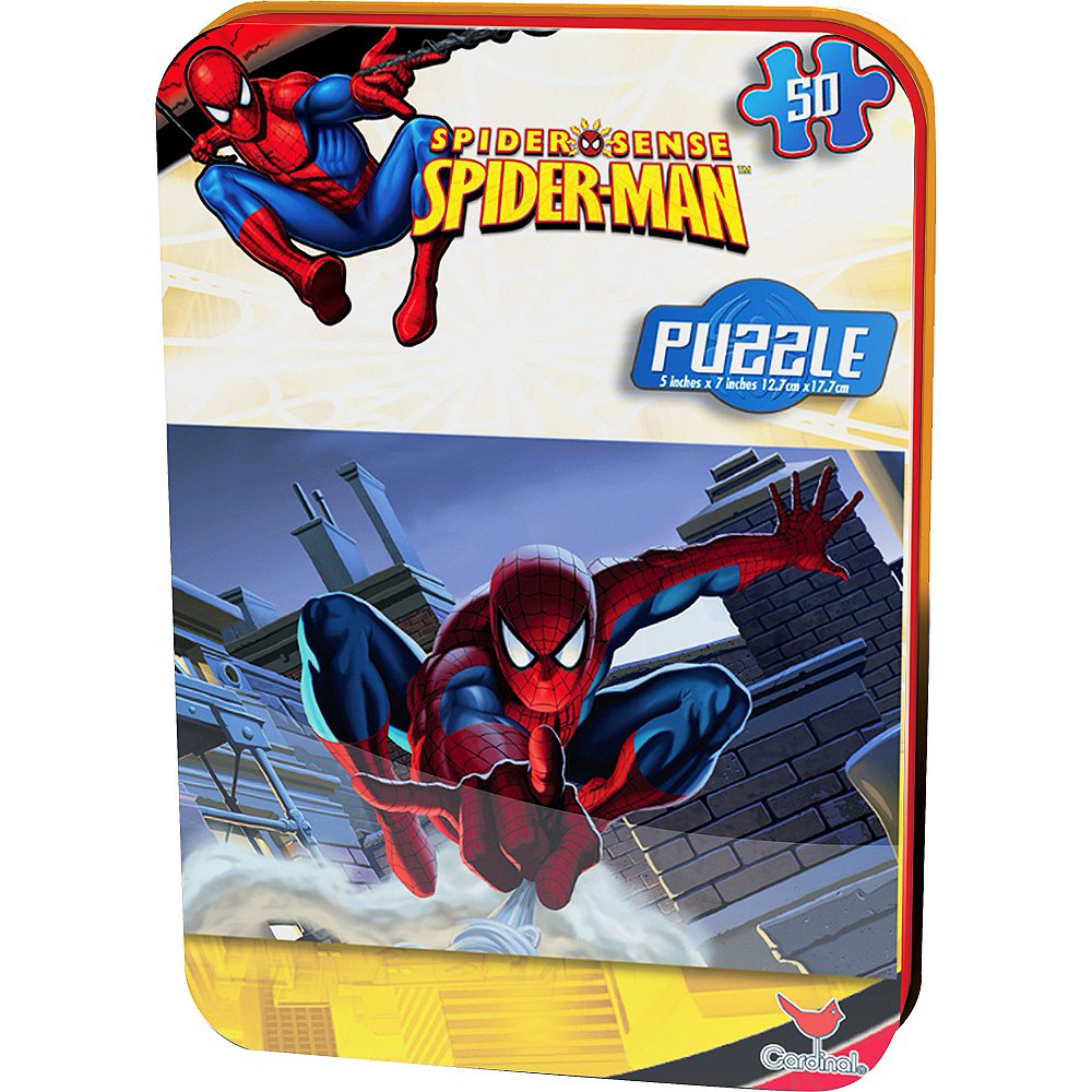 Nav Item for Spider-Man Puzzle Tin 50pc Image #1