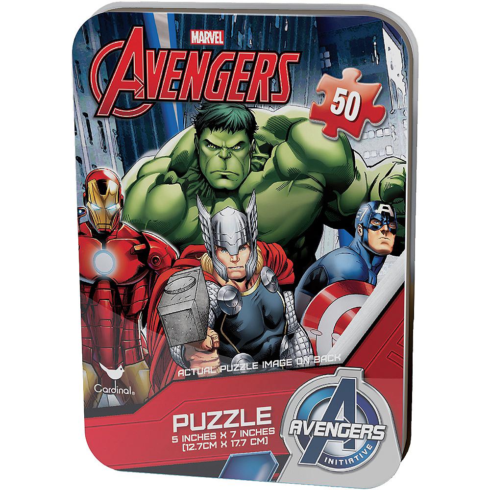 Avengers Mini Puzzle 50pc Image #1