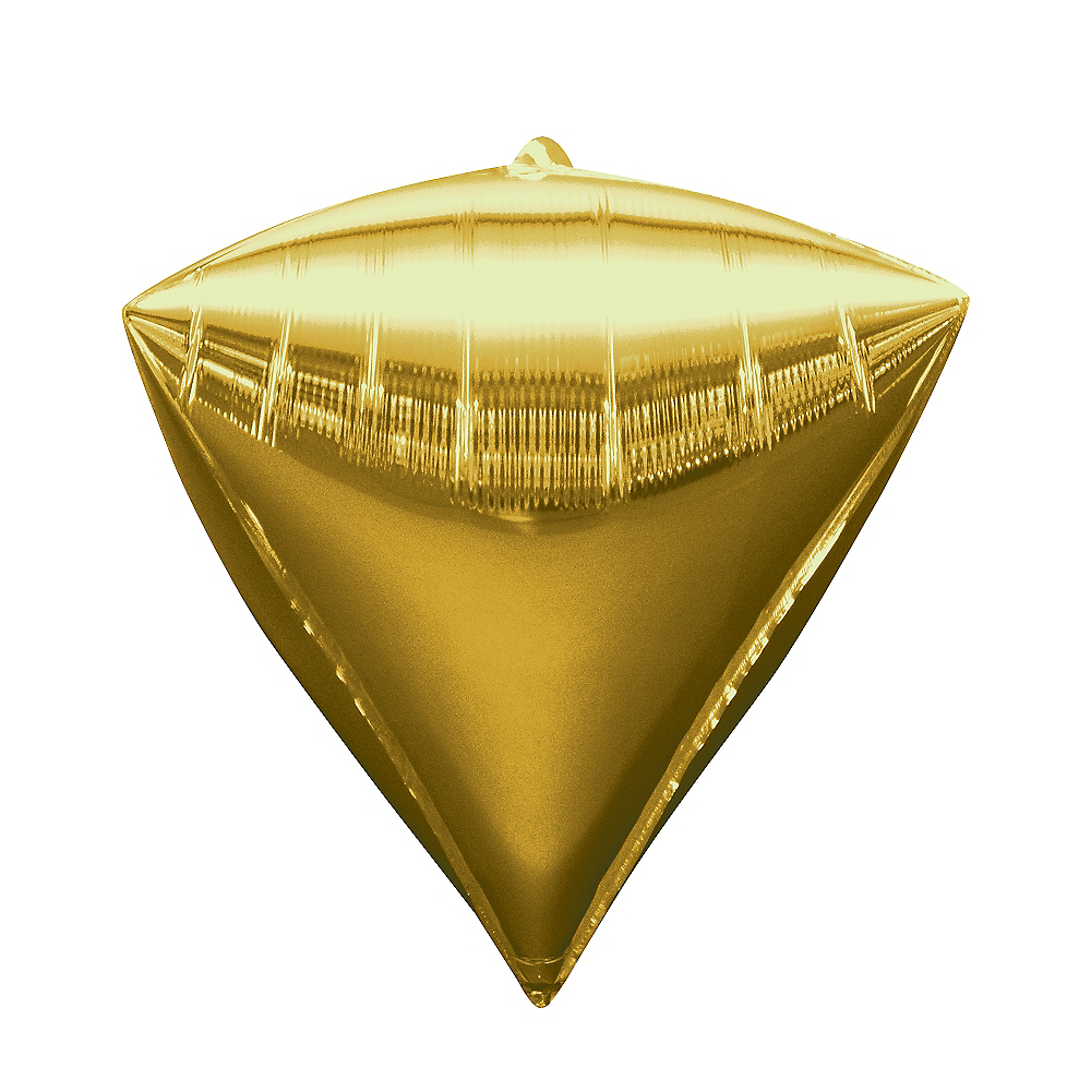 Gold Diamondz Balloon Image #1