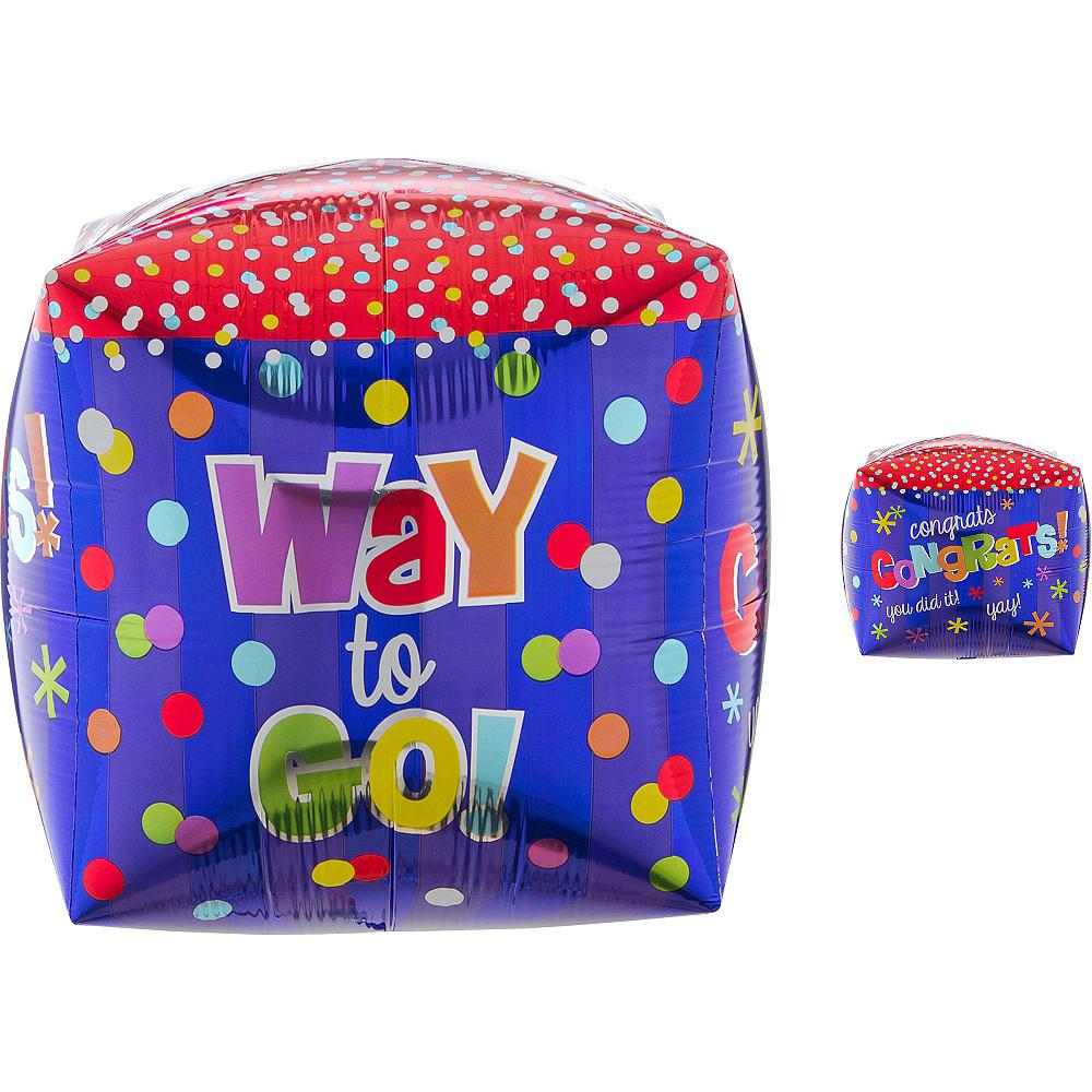 Cubez Way to Go Congrats Balloon, 15in Image #1