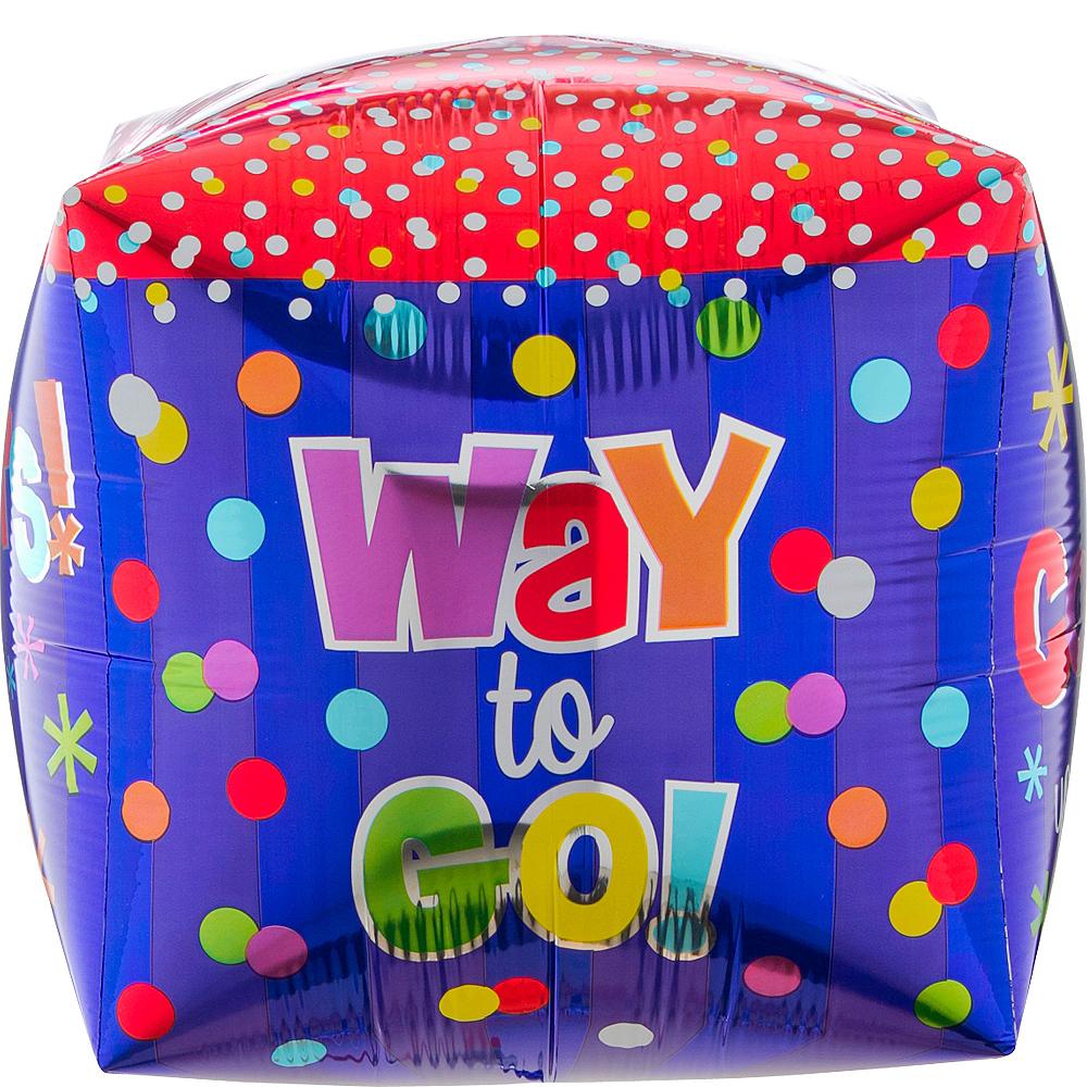 Cubez Way to Go Congrats Balloon, 15in Image #2