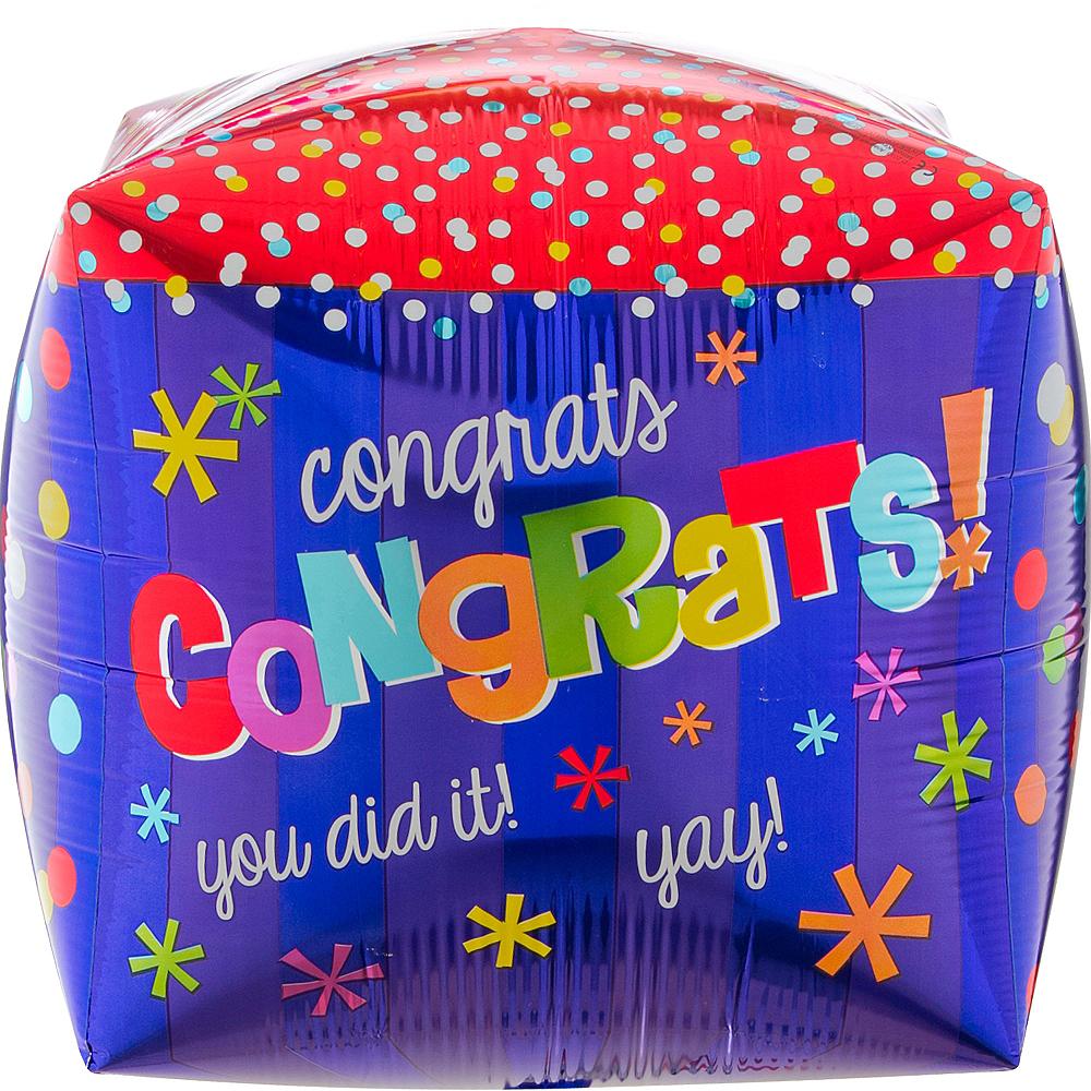 Cubez Way to Go Congrats Balloon, 15in Image #3
