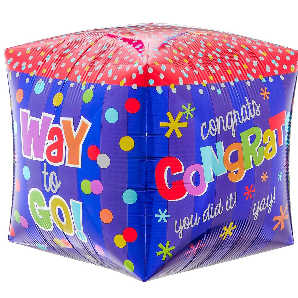 Cubez Way to Go Congrats Balloon, 15in Image #4