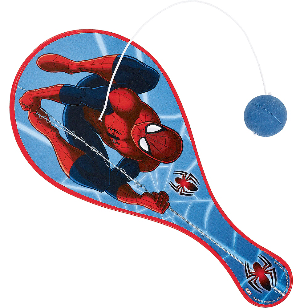 Nav Item for Spider-Man Paddle Ball Image #1