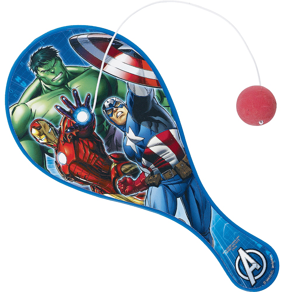 Avengers Paddle Ball Image #1
