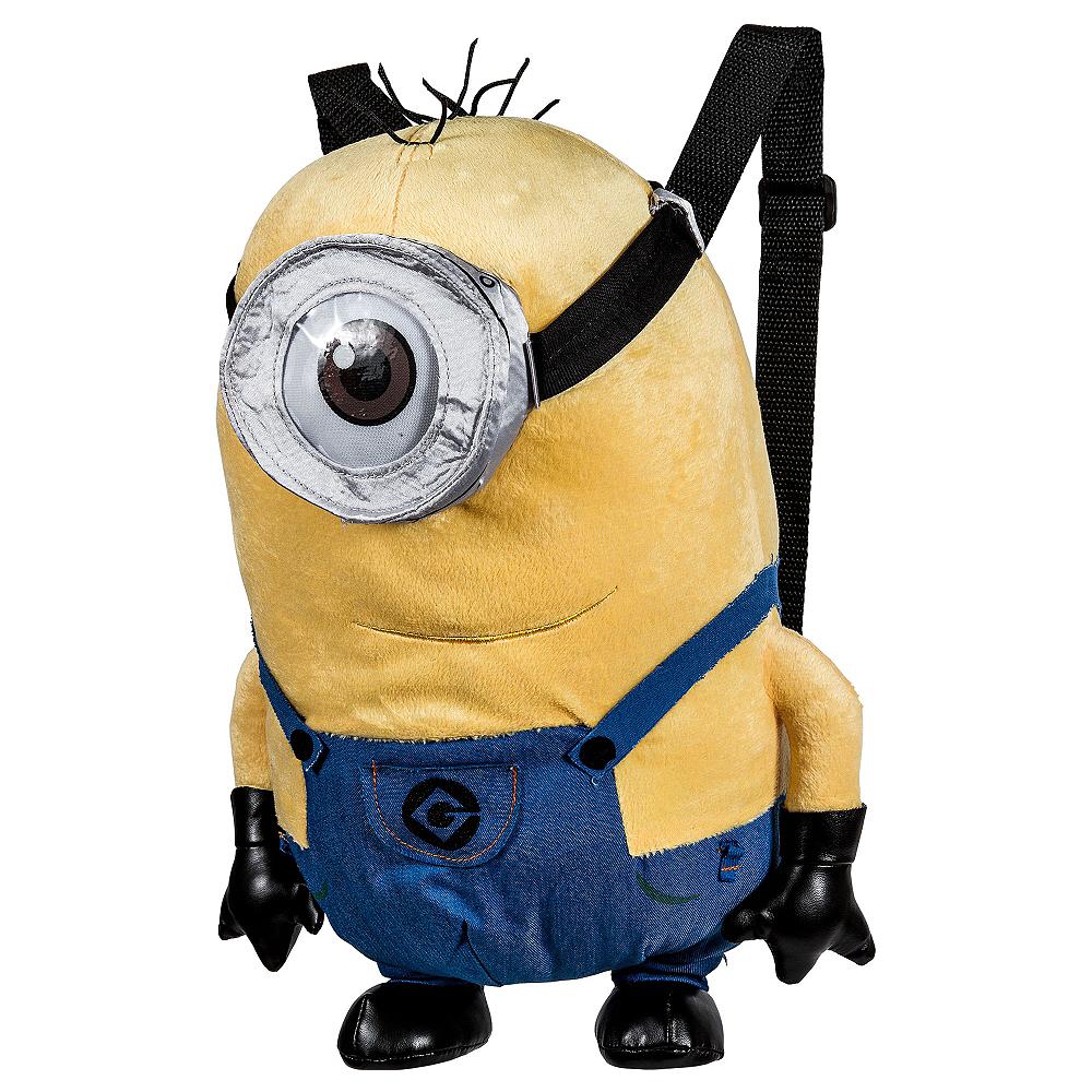 Stuart Minion Plush Backpack - Despicable Me Image #1