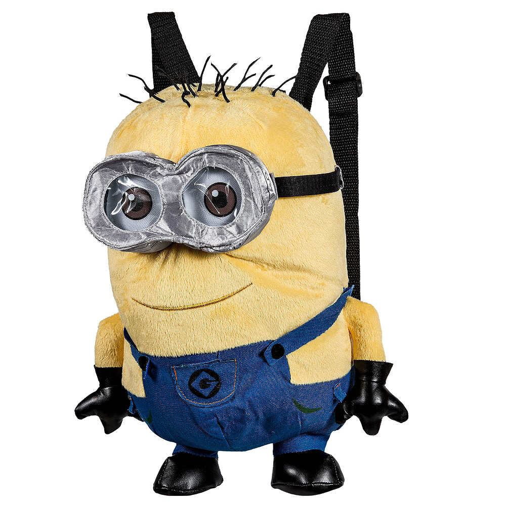 Jerry Minion Plush Backpack - Despicable Me Image #1