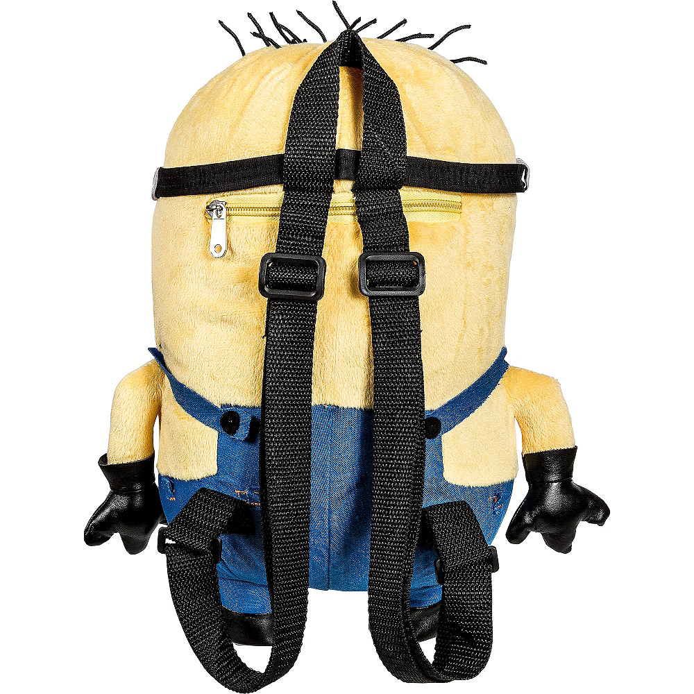 Jerry Minion Plush Backpack - Despicable Me Image #2