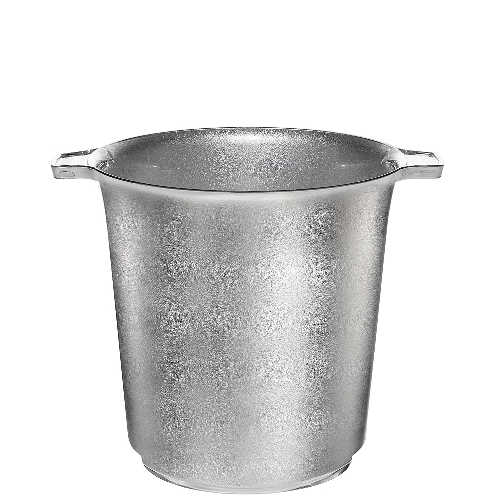 Nav Item for Silver Plastic Ice Bucket Image #1