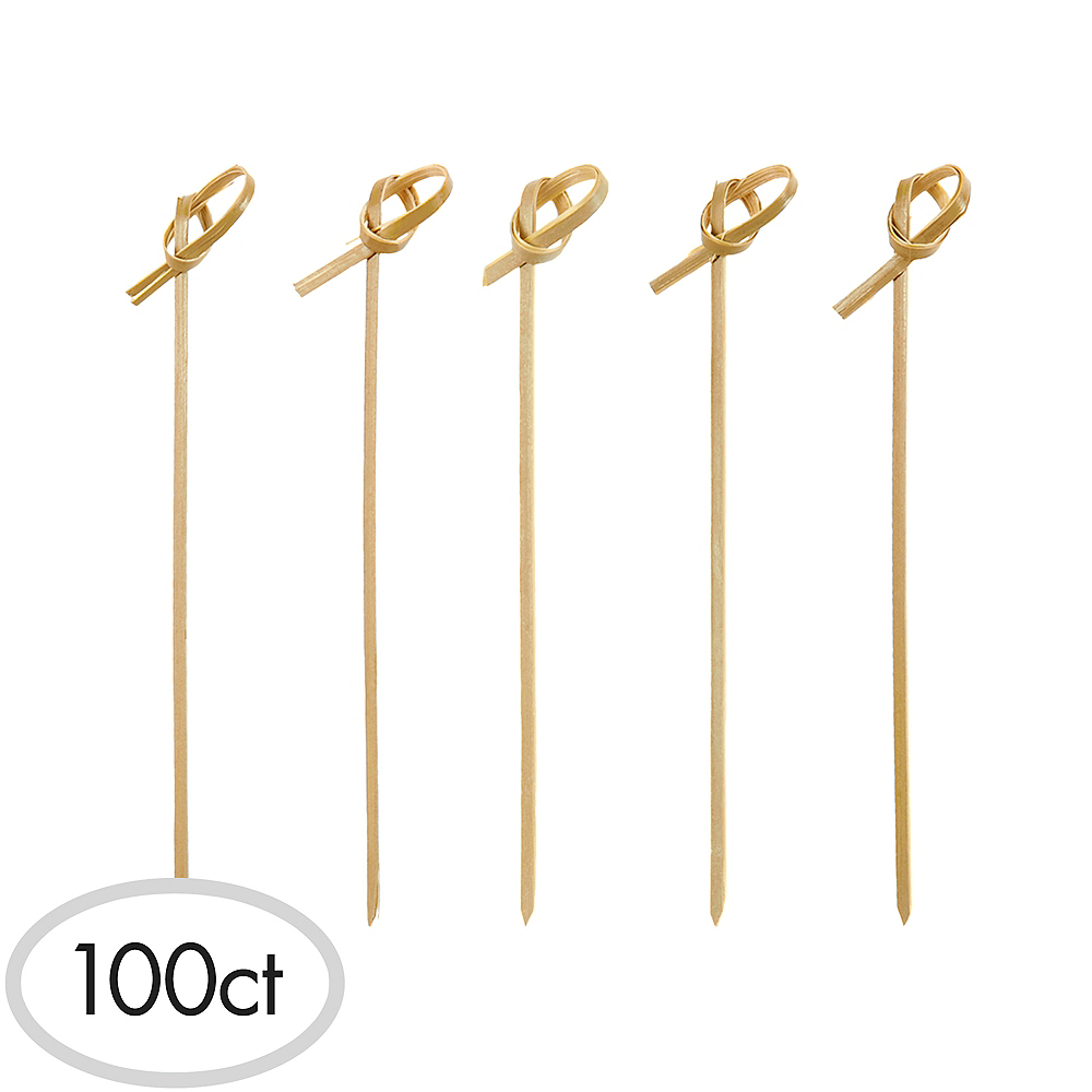 Bamboo Knot Party Picks 100ct Image #1