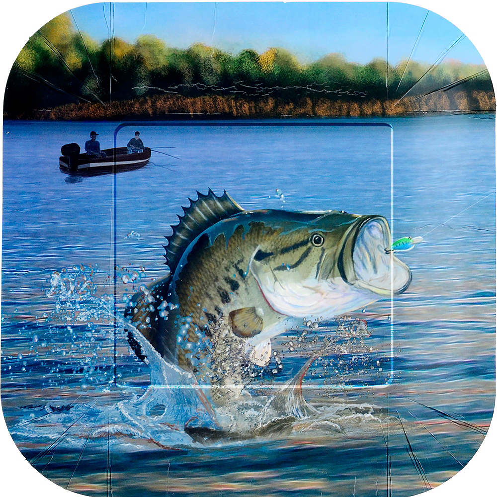 Gone Fishing Lunch Plates 8ct Image #1