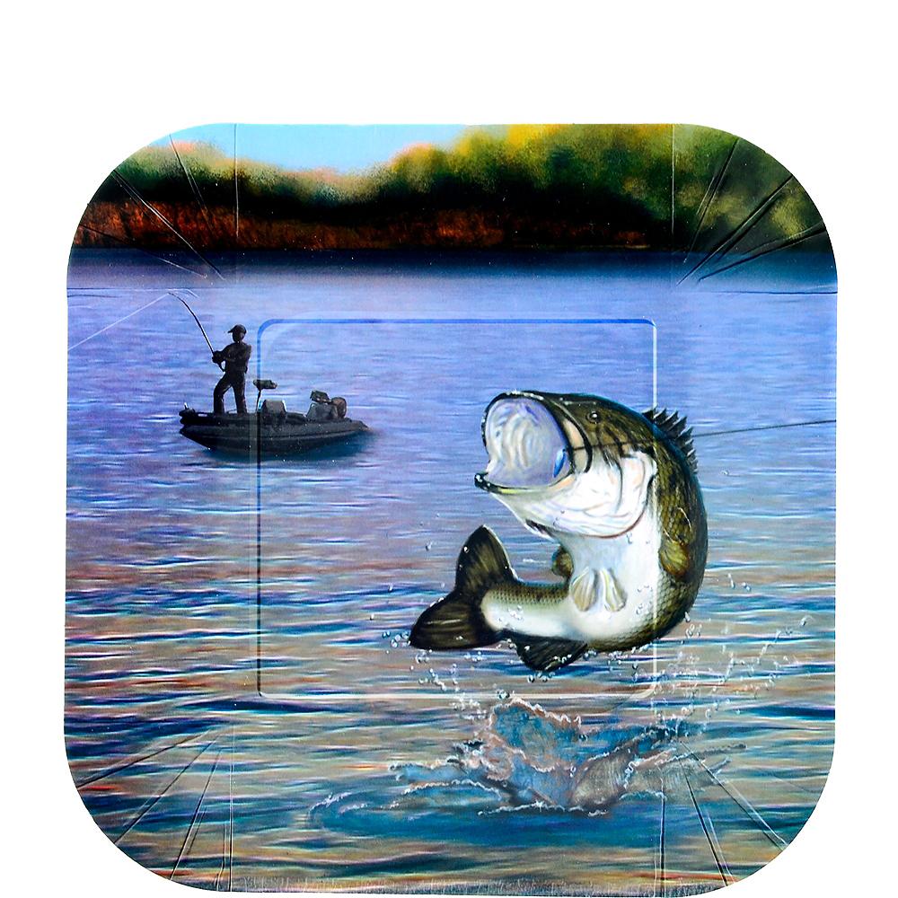 Gone Fishing Dessert Plates 8ct Image #1