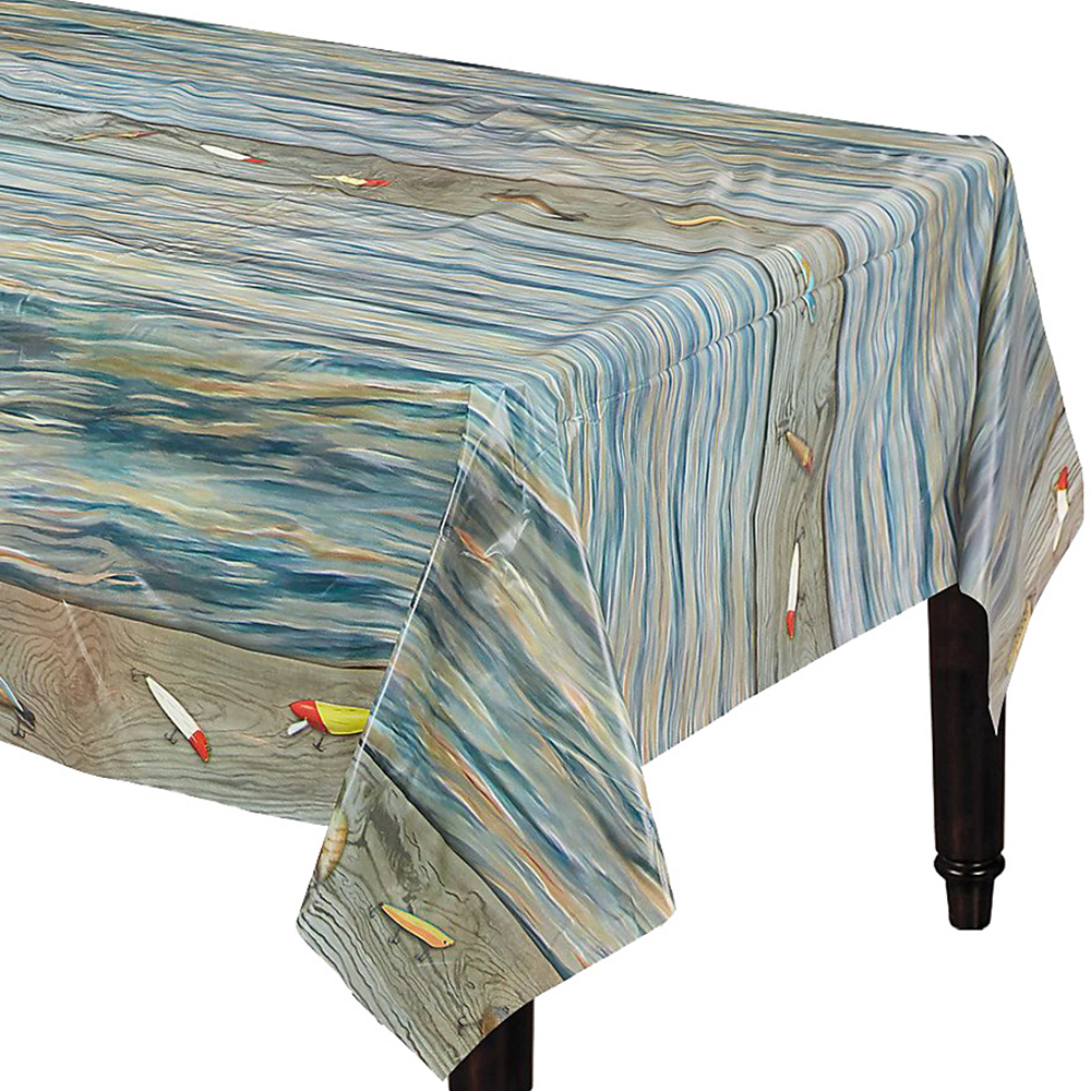 Gone Fishing Table Cover Image #1