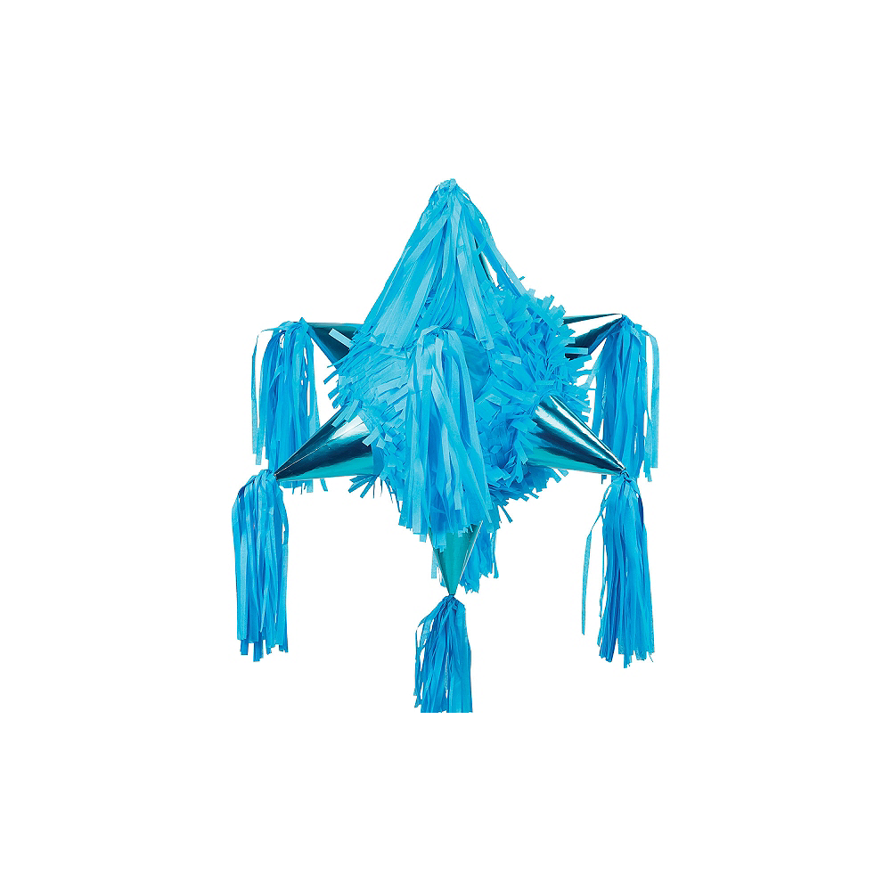 Caribbean Blue 8-Point Star Pinata Image #1