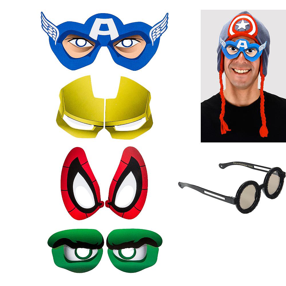 Superhero Cartoon Eyes 4ct Image #1