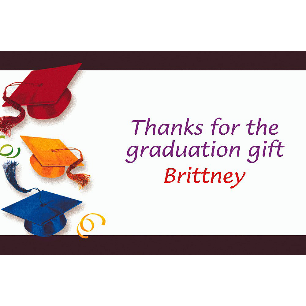 Custom School's Out Graduation Thank You Notes  Image #1