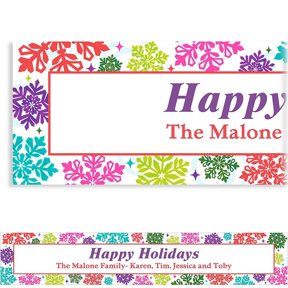 Custom Bright Holiday Banner 6ft Image #1